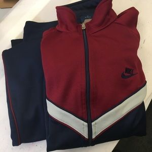 Nike early 80s track suit.